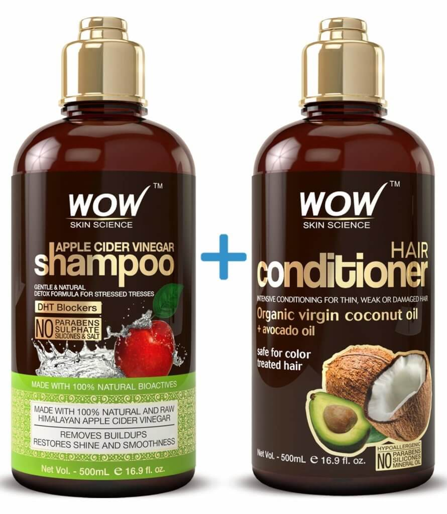 Apple Cider Vinegar Shampoo & Conditioner - Amazon Bestsellers in Beauty and Personal Care