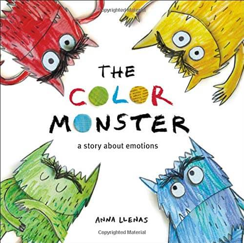 Books for Kids About Feelings - The Color Monster- A Story About Emotions