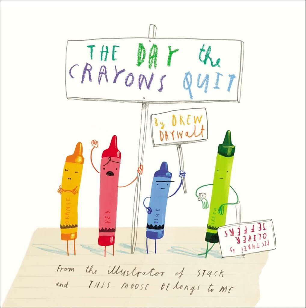 Books for Kids About Feelings - The Day the Crayons Quit