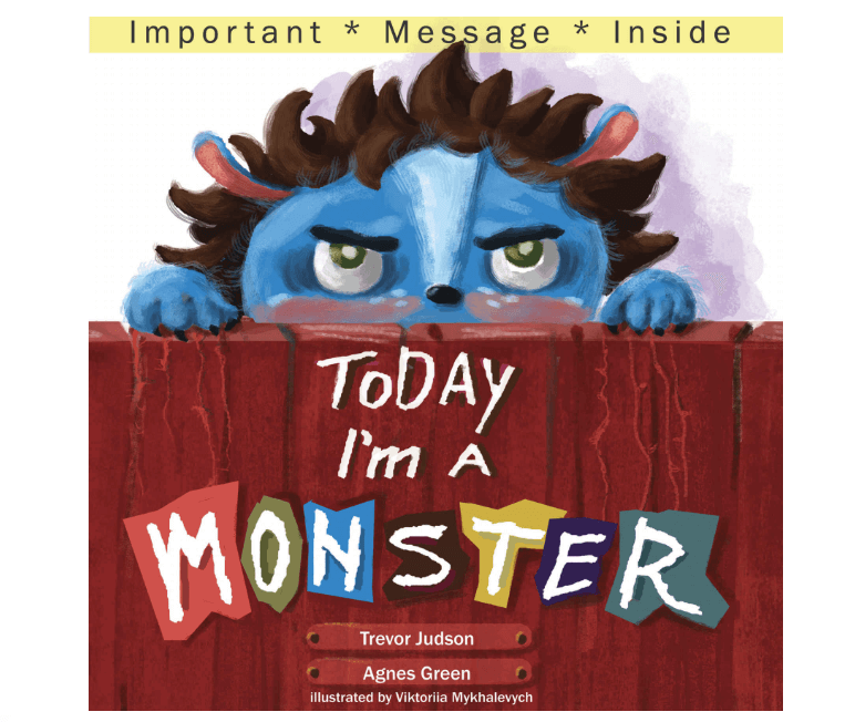 Books for Kids About Feelings - Today I'm a Monster