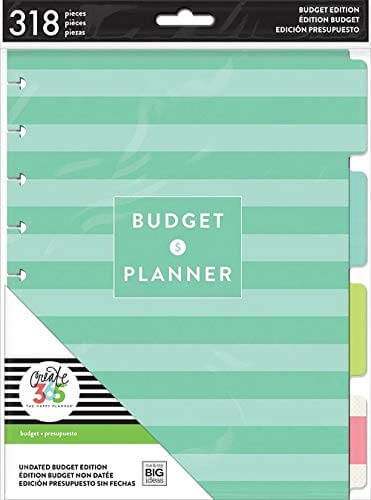 Budget Extension Bill Organizer - Planner Accessories - The Minted Life Lifestyle Blog for Women - Giveaways for Women