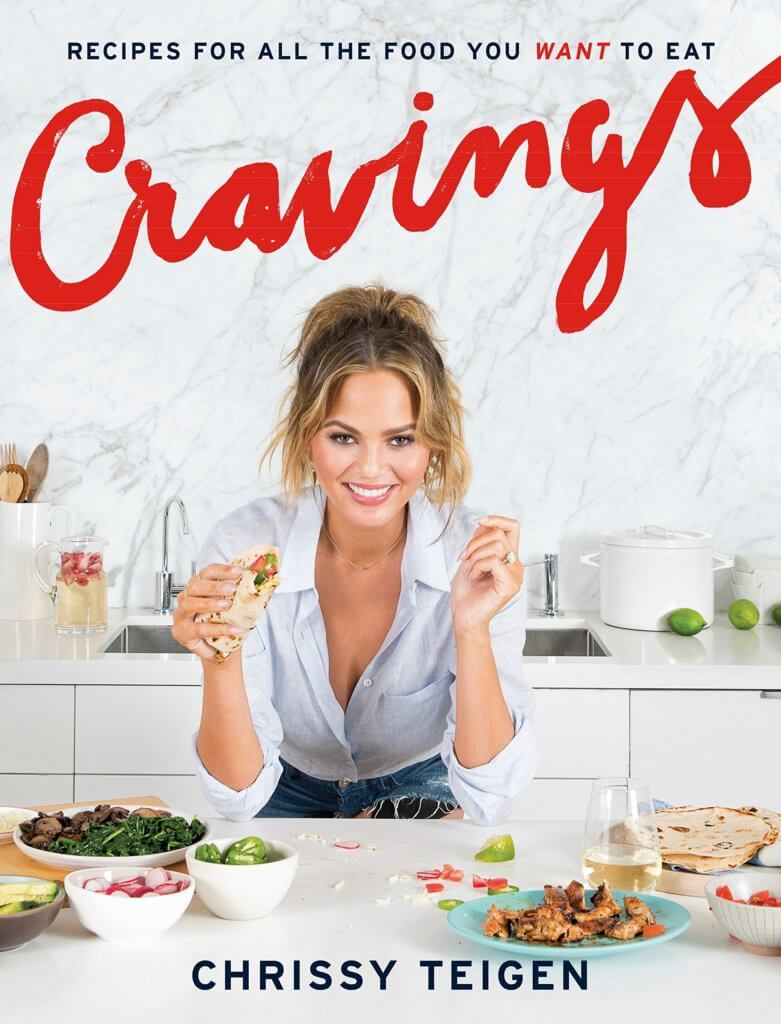 Cookbook Gifts - Cravings by Chrissy Teigan