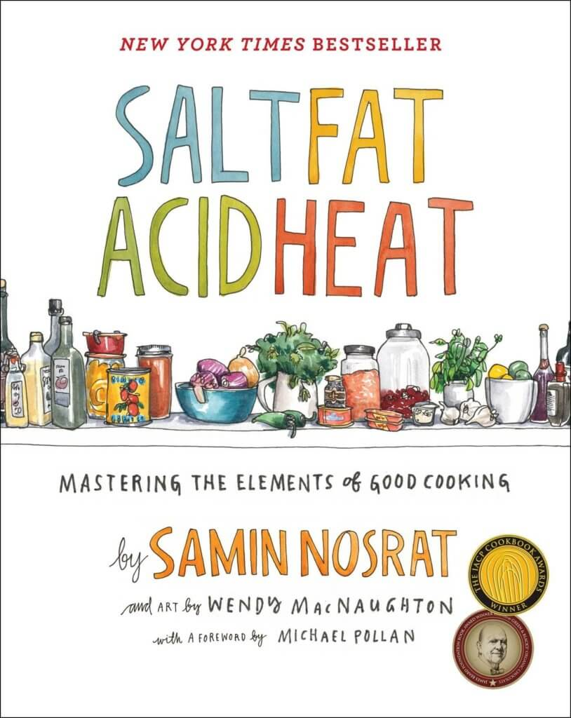 Cookbook Gifts - Salt, Fat, Acid, Heat- Mastering the Elements of Good Cooking