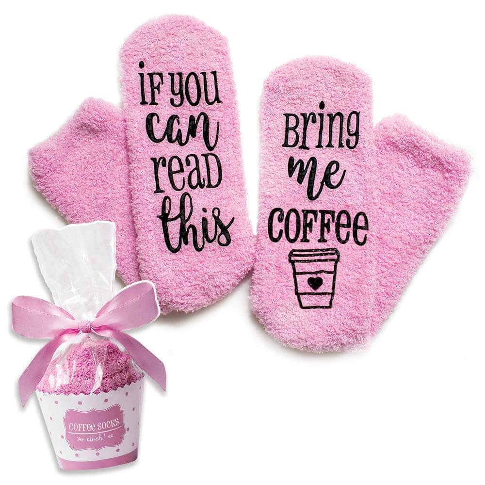 Gifts for Moms Who Have Everything - Bring Me Coffee Socks
