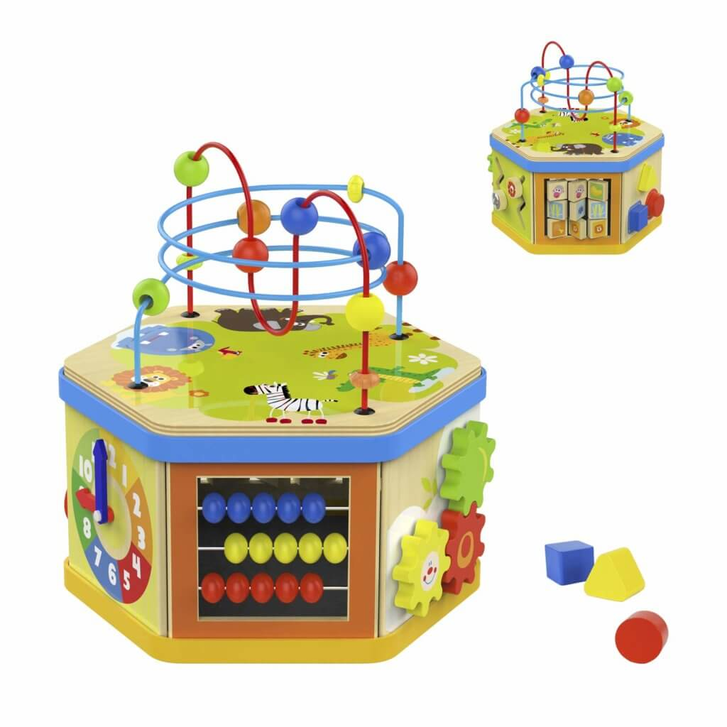 Gifts for Toddlers - Activity Cube