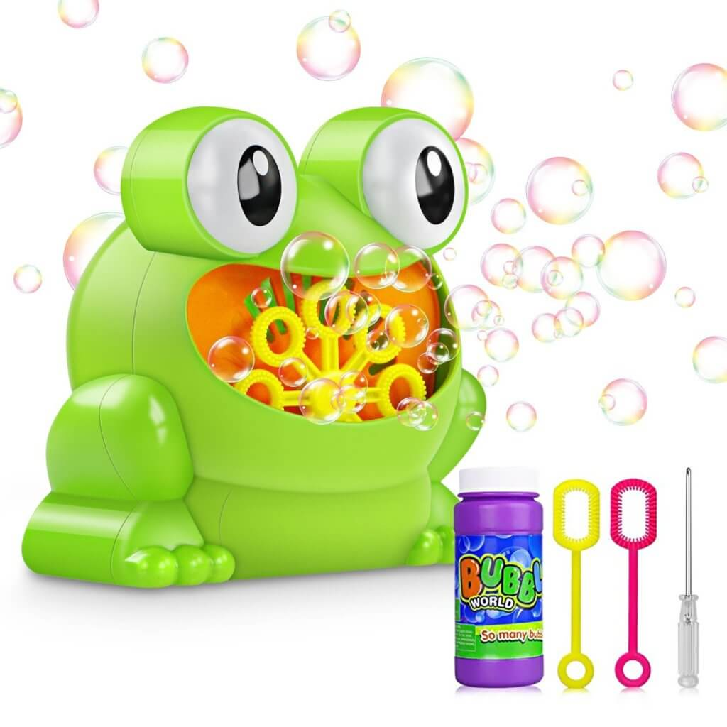 Gifts for Toddlers - Bubble Machine
