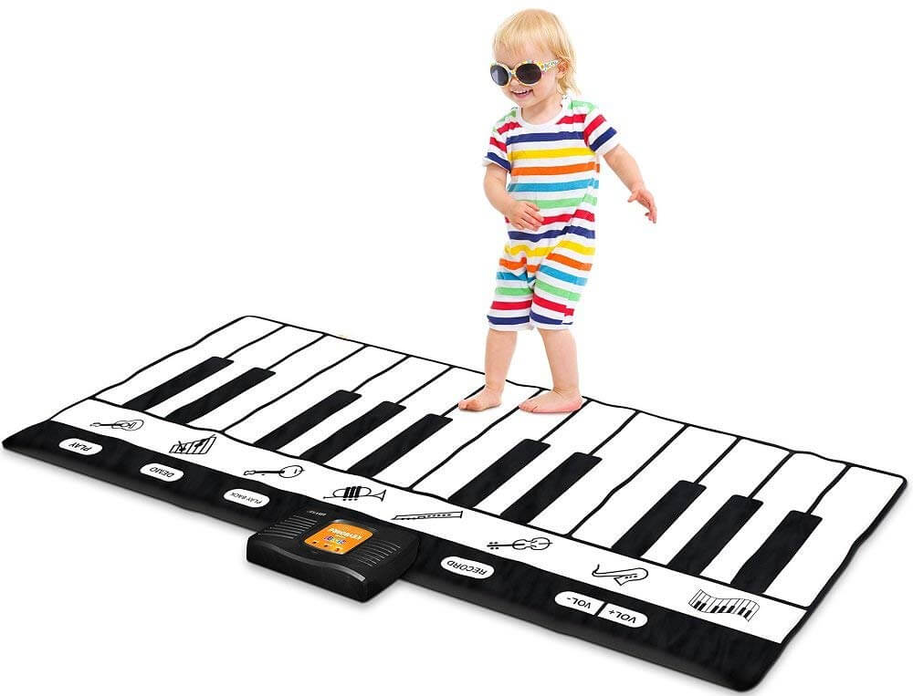 Gifts for Toddlers - Keyboard Playmat