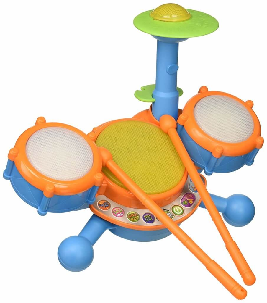 Gifts for Toddlers - Kidibeat Drum Set