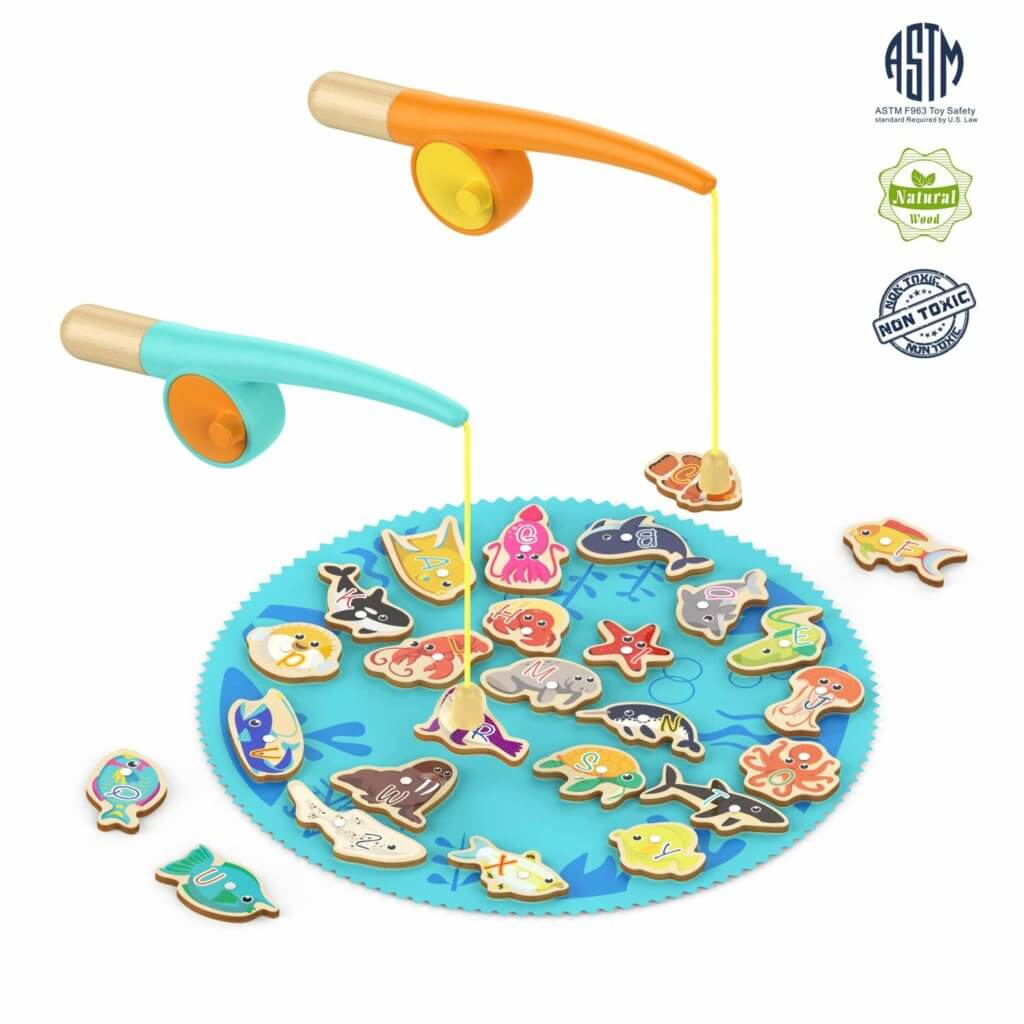 Gifts for Toddlers - Toddler Fishing Game