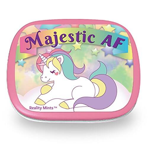 Gifts for Your Salty BFF - Majestic AF Unicorn Mints