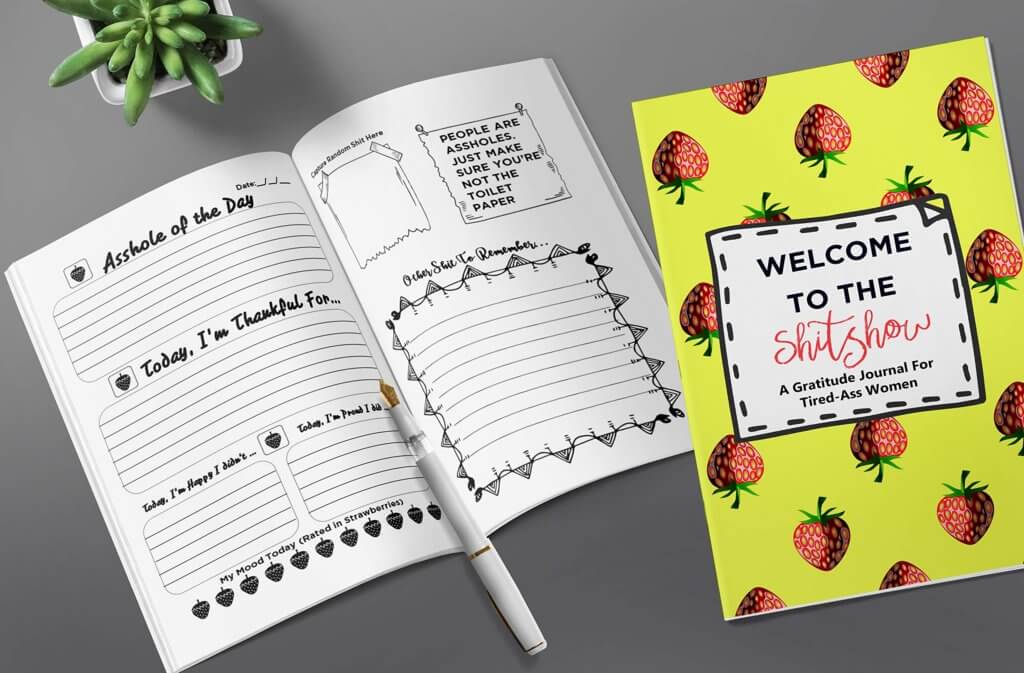 Gifts for Your Salty BFF - Salty Gratitude Journal