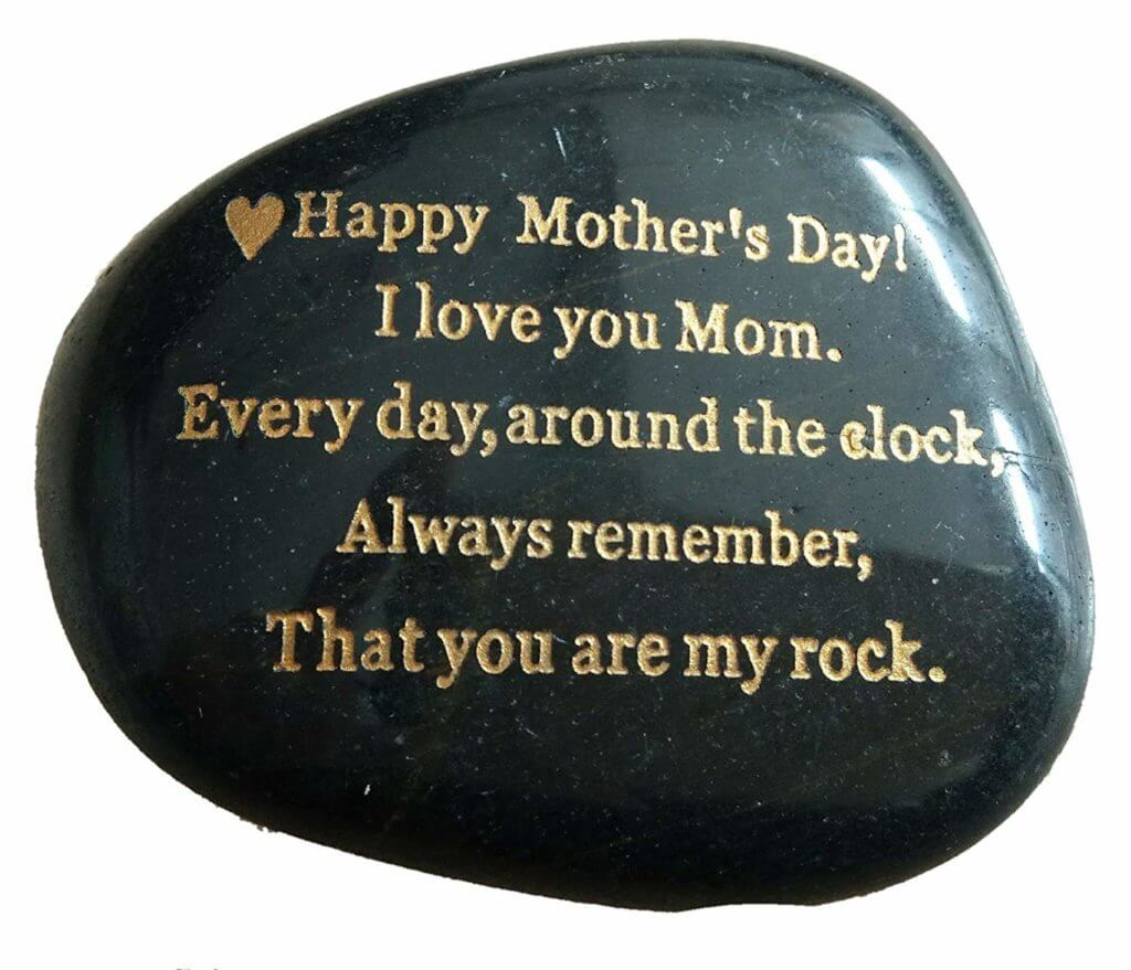 Last Minute Mother's Day Gift Ideas - Mother's Day You're My Rock