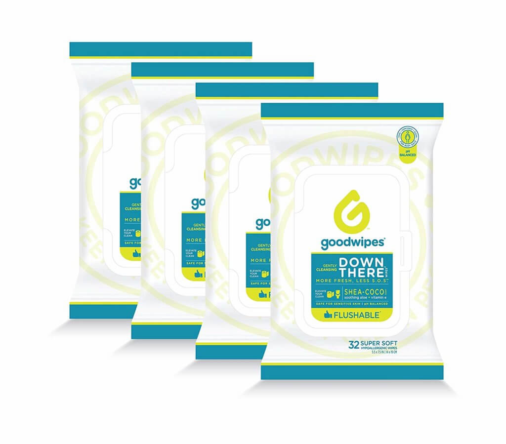 Travel Essentials for Women - Down There Cleansing Wipes