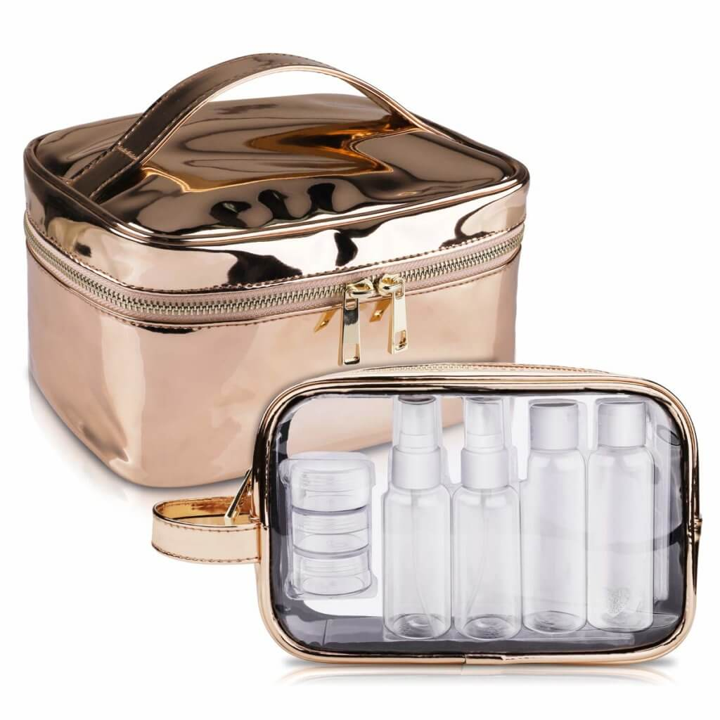 Travel Essentials for Women - TSA Approved Toiletry Organizer