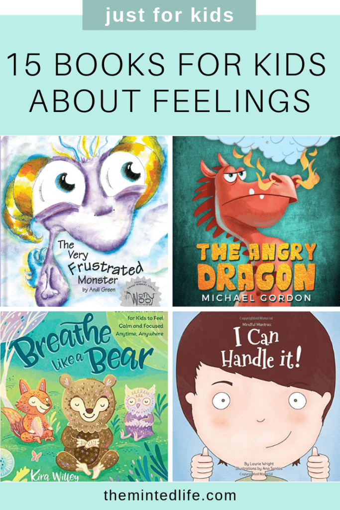 15 Little Books for Kids About Feelings