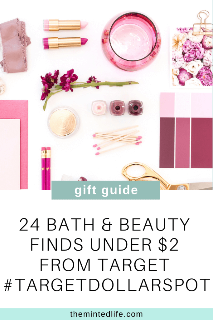 24 Bath & Beauty Finds Under $2 from Target #targetdollarspot - The Minted Life - Lifestyle Blog for Women