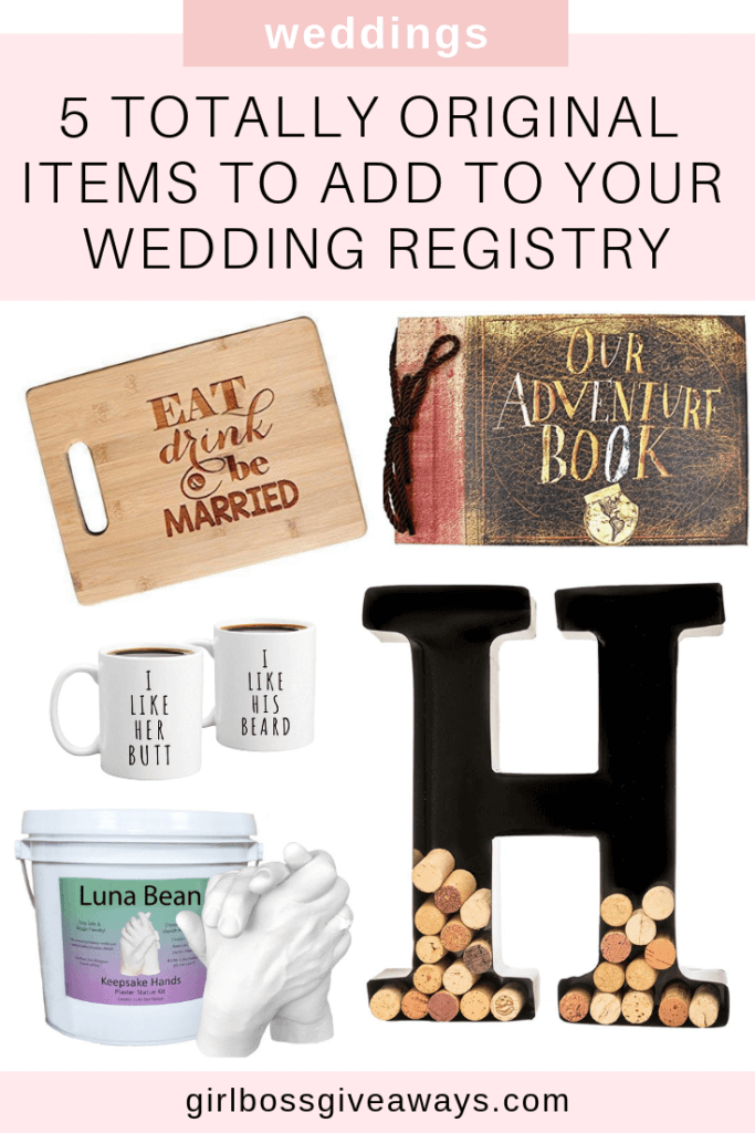 5 Totally Unique Items to Add to Your Wedding Registry