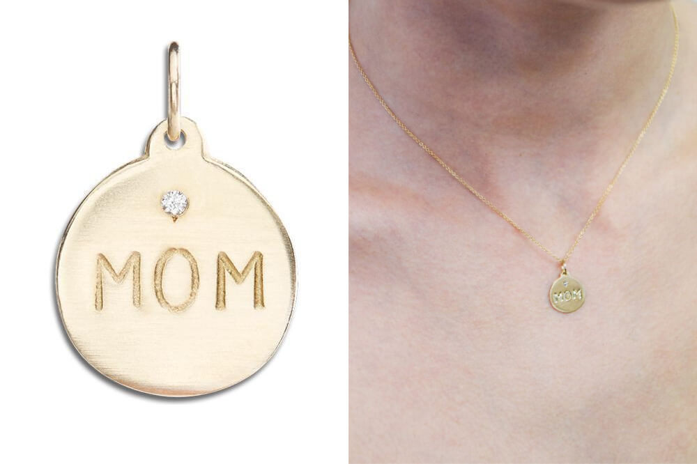 Enter for a chance to win 14k Gold and Diamond _MOM_ Necklace from Woman's World Giveaways - The Minted Life - Lifestyle Blog for Women